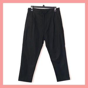 Anthro Love Binetti Sz 4 P Ankle Length Poly Pants